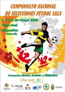 El Campeonato Nacional de Selecciones de Fútbol Sala cita este fin de semana en Vila-real a más de 300 jugadores de España