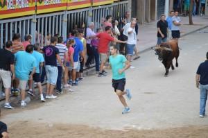 Cuatro heridos en el toro embolado de anoche en Vila-real