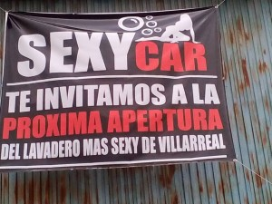 La Concejalía de la Mujer emite un comunicado ante el anuncio de la apertura de un lavadero «Sexy Car» en Vila-real
