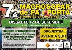 La macrocena de vecinos de fiestas se traslada a la avenida de la Murà para incrementar la participación