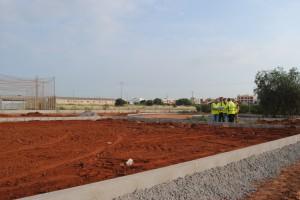 La Ciudad Deportiva avanza la obra de infraestructura y cumple plazos para culminar el proyecto en el primer tramo de 2016