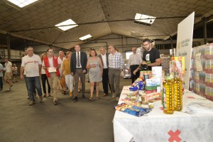 Cruz Roja reparte 282 toneladas de alimentos entre familias necesitadas