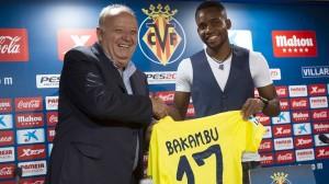 Bakambu: «Voy a poner todo de mi parte para ayudar al Villarreal»