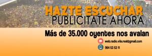 Haz despegar tu negocio publicitándote en Radio Vila-real