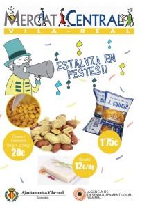 La Concejalía de Economía impulsa las ventas del Mercado Central en fiestas con una campaña dirigida a las peñas