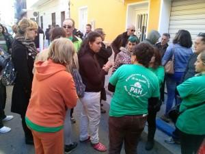Desahuciada la familia de la Calle San Isidro en Vila-real