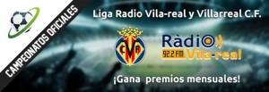 """Ganadores finales de la """"Liga OFICIAL del Villarreal CF y Radio Vila-real Futmondo 2015/16"""""""