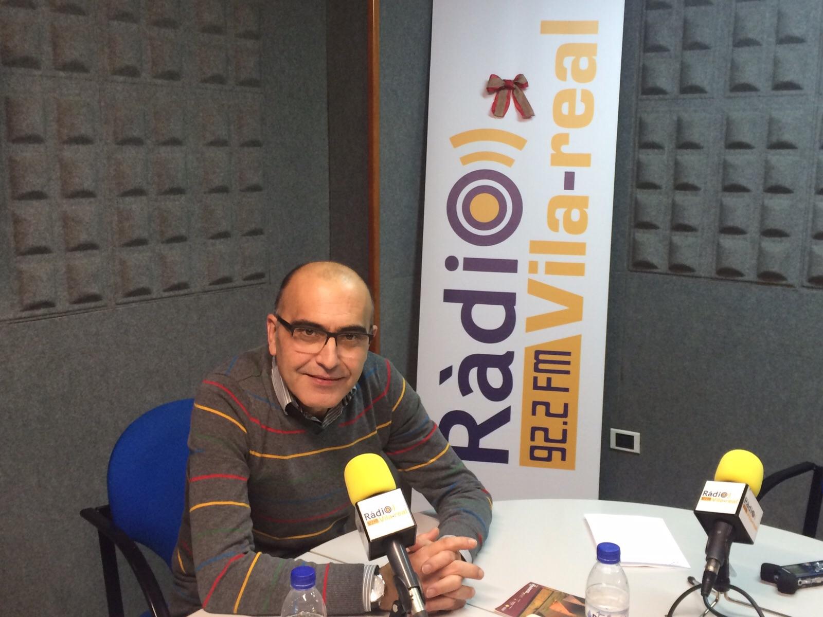 Entrevista al presidente de la Fundació Caixa Rural de Vila-real, Enric Portalés
