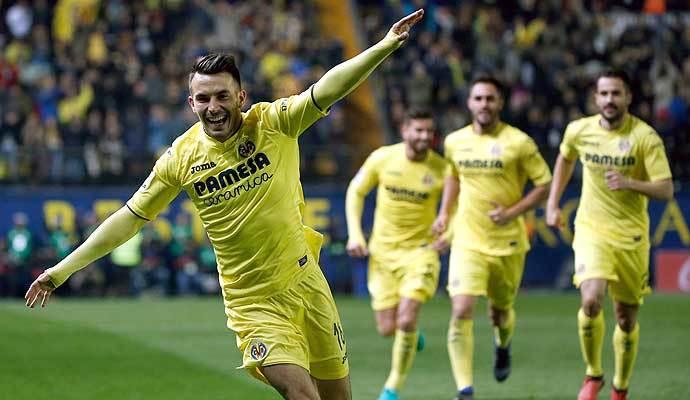Vibra con el gol de Sansone al Barça