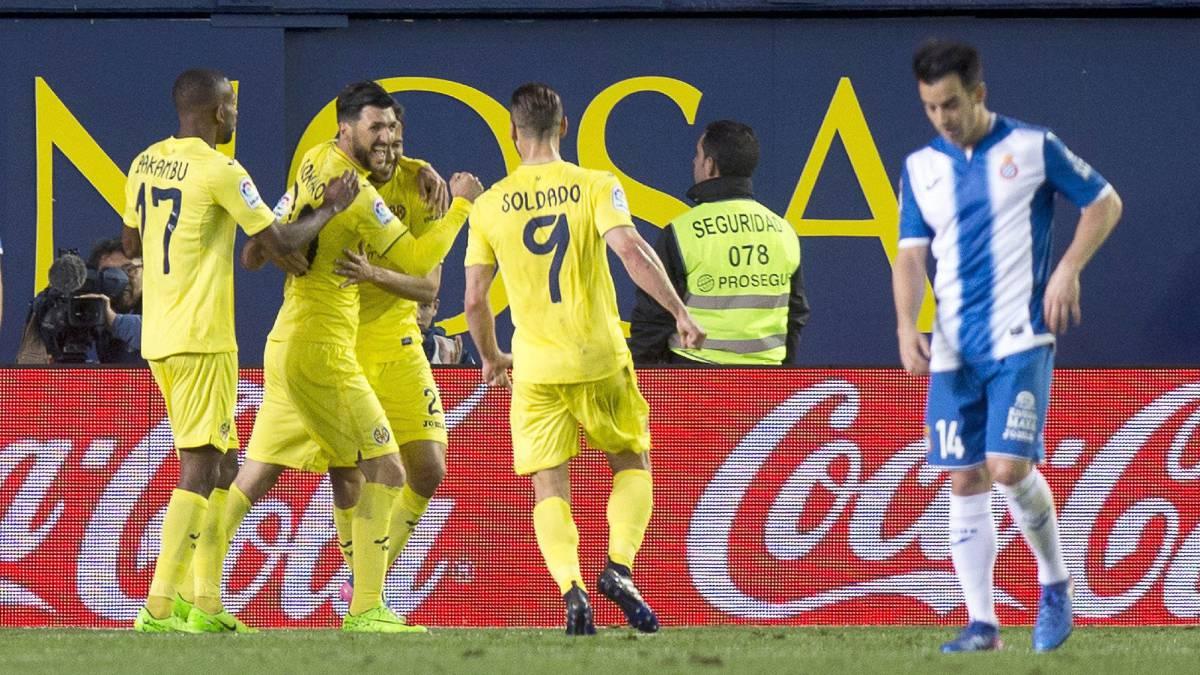 Escucha los goles del Villarreal al Espanyol