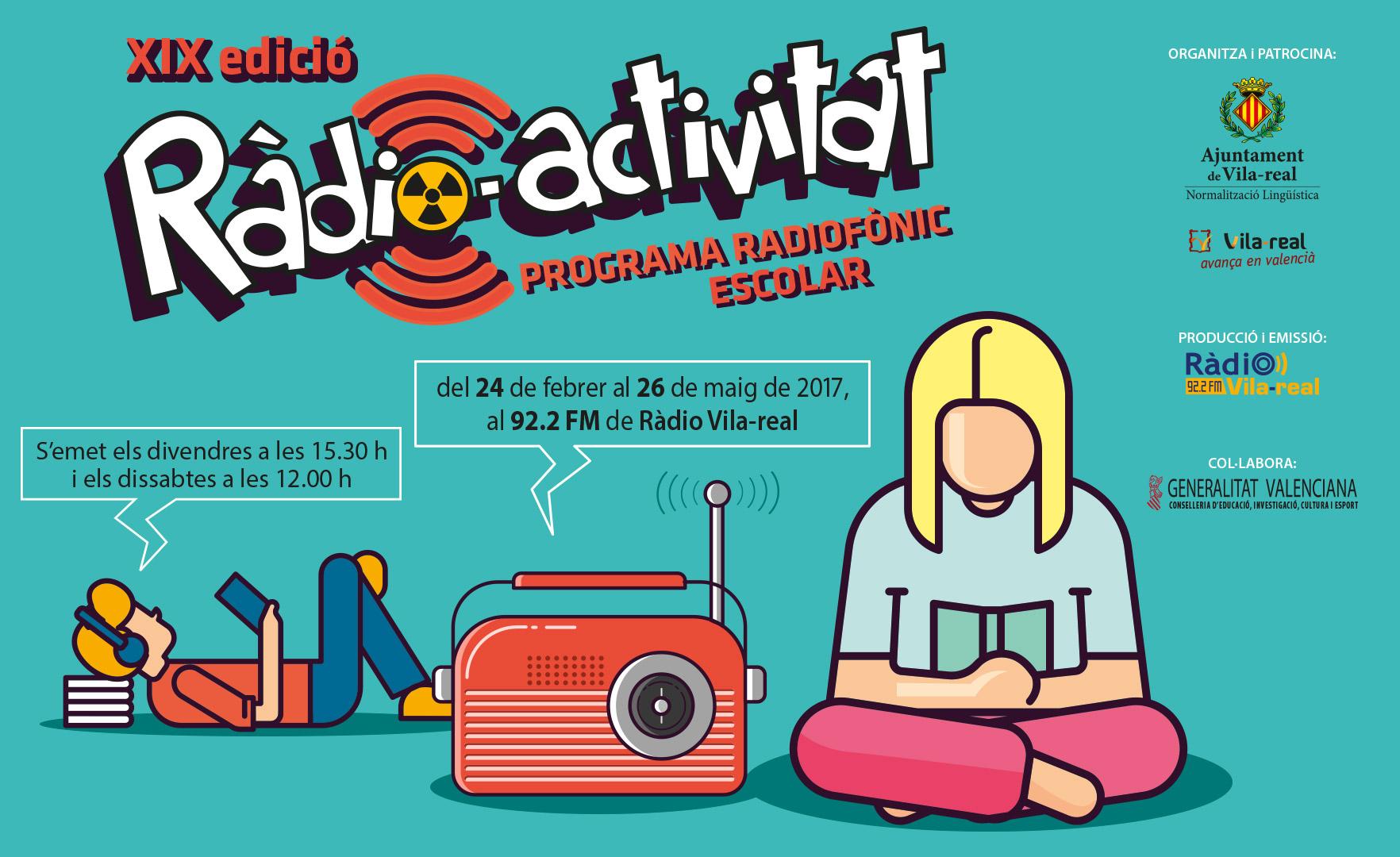 """Escucha nuestros programas de """"Ràdio-activitat"""" 2017"""