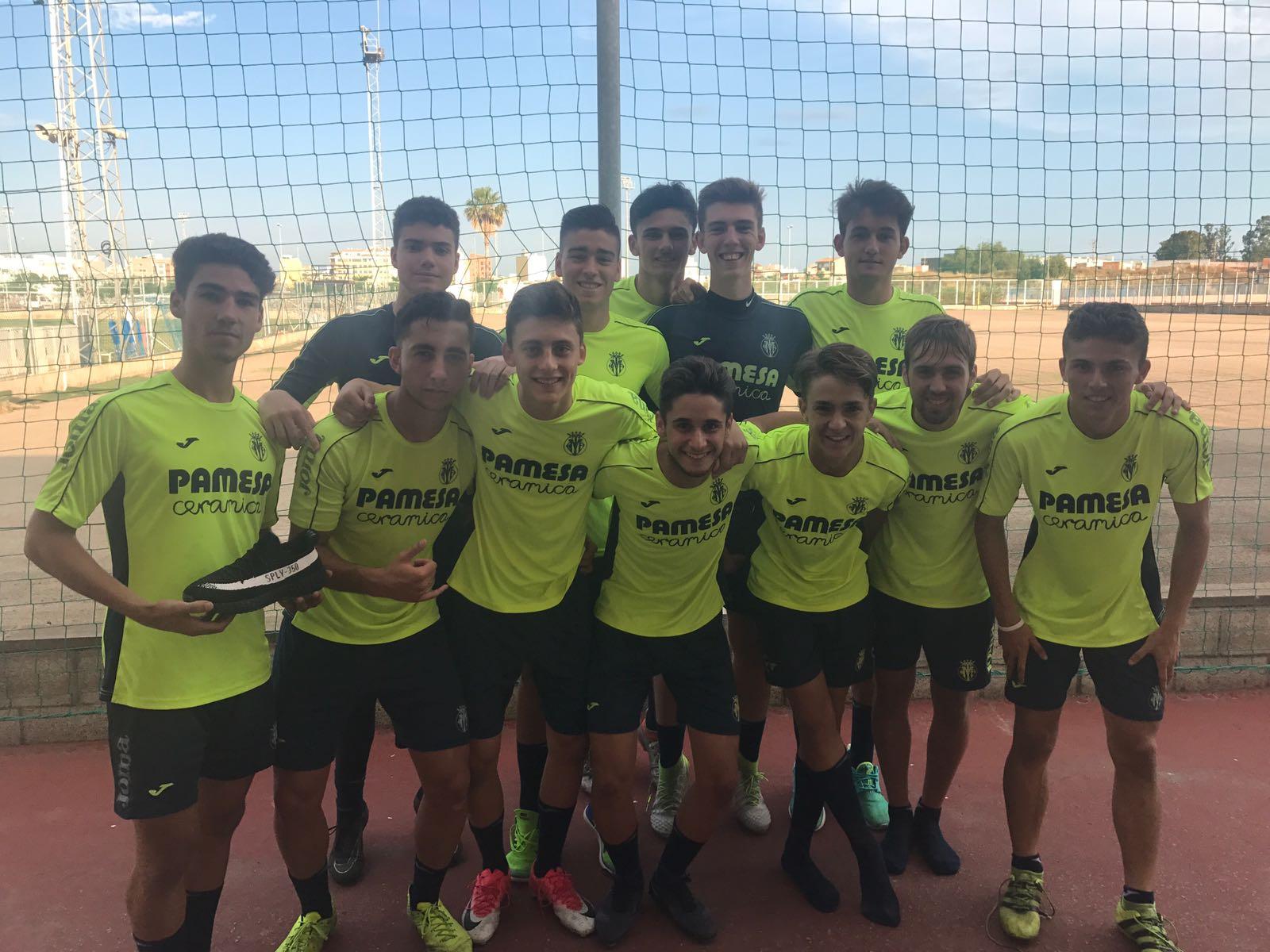 Conoce mejor al Cadete A del Villarreal CF