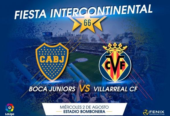 Vive el partidazo CA Boca Juniors-Villarreal CF en Ràdio Vila-real