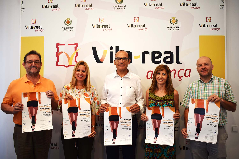 Caixa Rural Vila-real organiza el primer 30K de la provincia de Castellón
