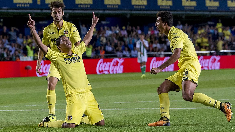 Así suenan los goles del Villarreal al Betis