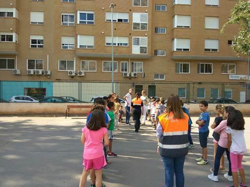 Protección Civil inicia el curso de Autoprotección Escolar entre alumnos y profesores de los centros educativos de Vila-real
