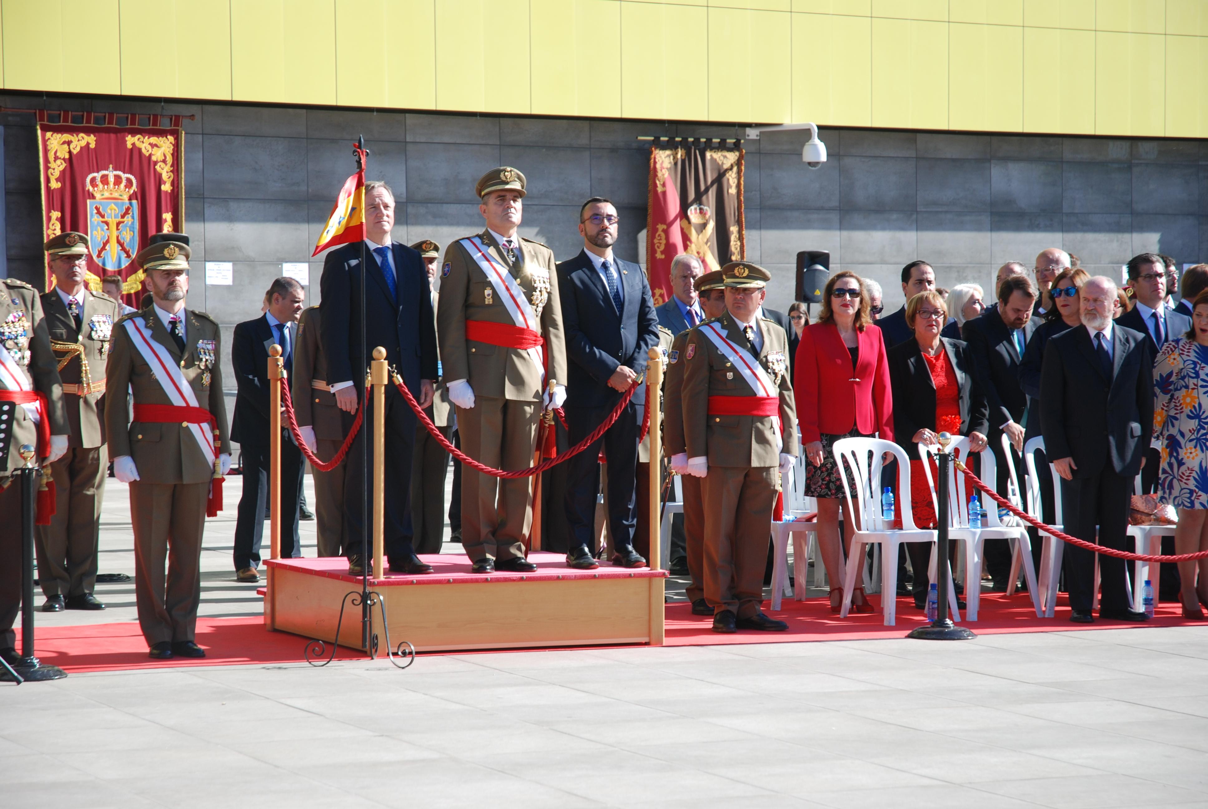 770 civiles juran bandera en Vila-real