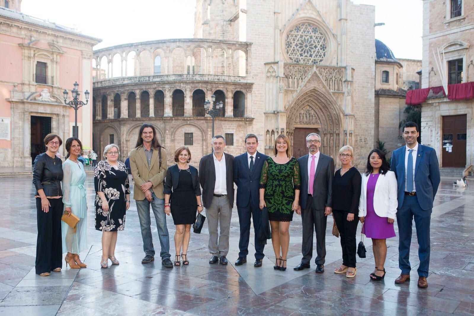 L'alcalde de Vila-real felicita Quique Arenós i el Fons de la Solidaritat per les distincions de la Generalitat amb motiu del 9 d'Octubre