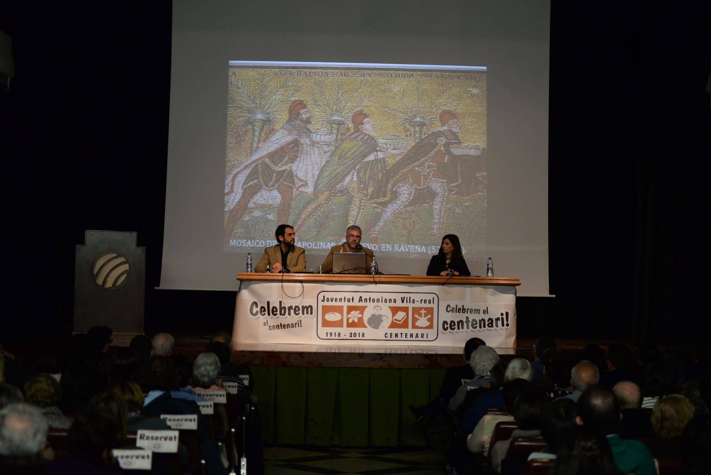 Juventud Antoniana celebra su centenario con una conferencia histórica de los Reyes Magos