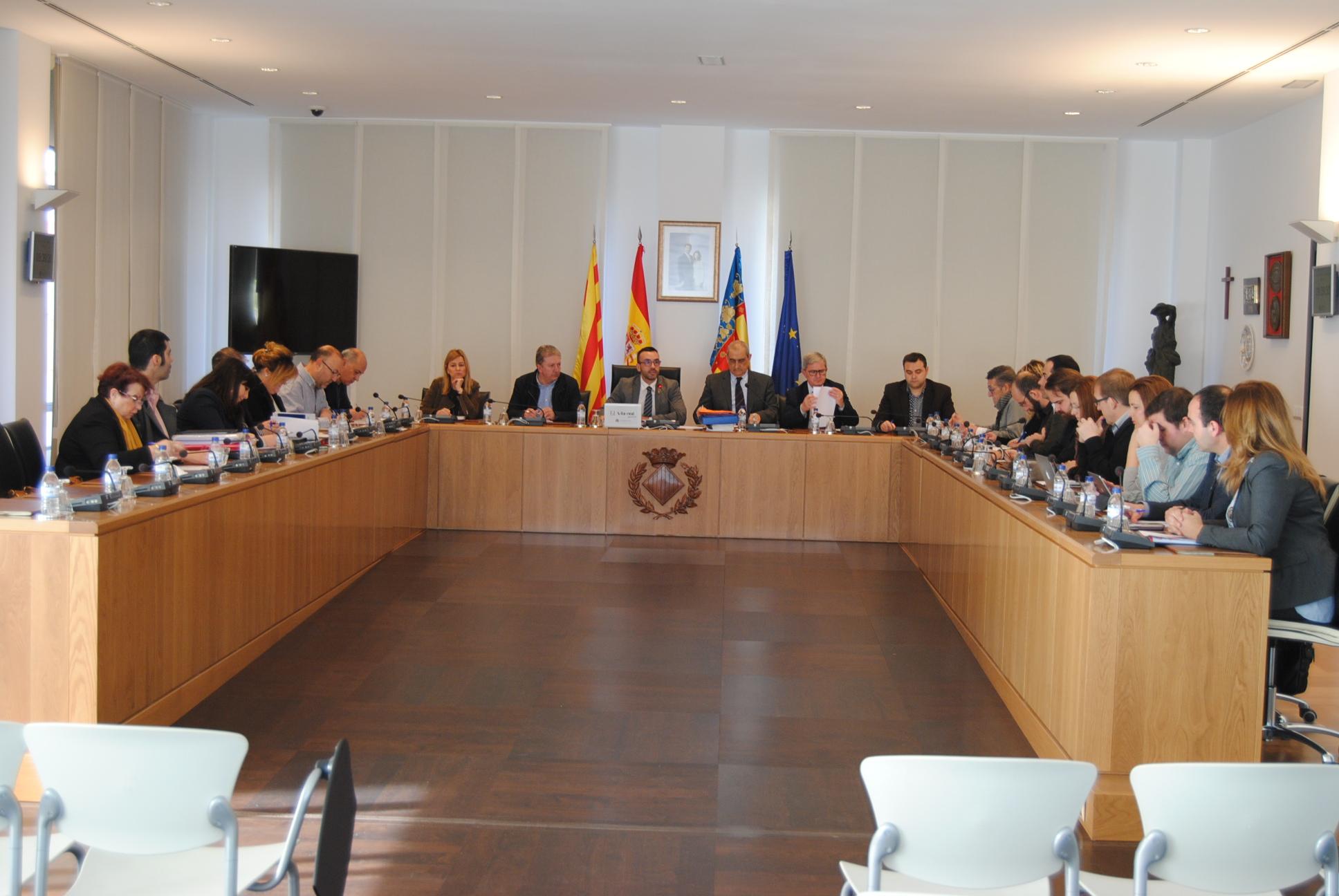Vila-real aprueba la liquidación presupuestaria del 2017 con 4,6 millones de euros en remanentes para gastos generales