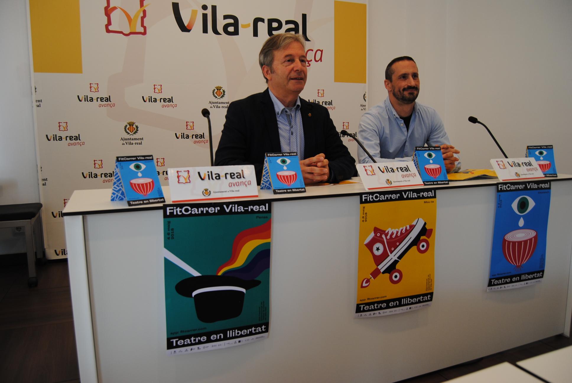 La 31ª edición del FITCarrer congrega en Vila-real a 21 compañías de todo el mundo bajo el lema 'Teatre en llibertat'.