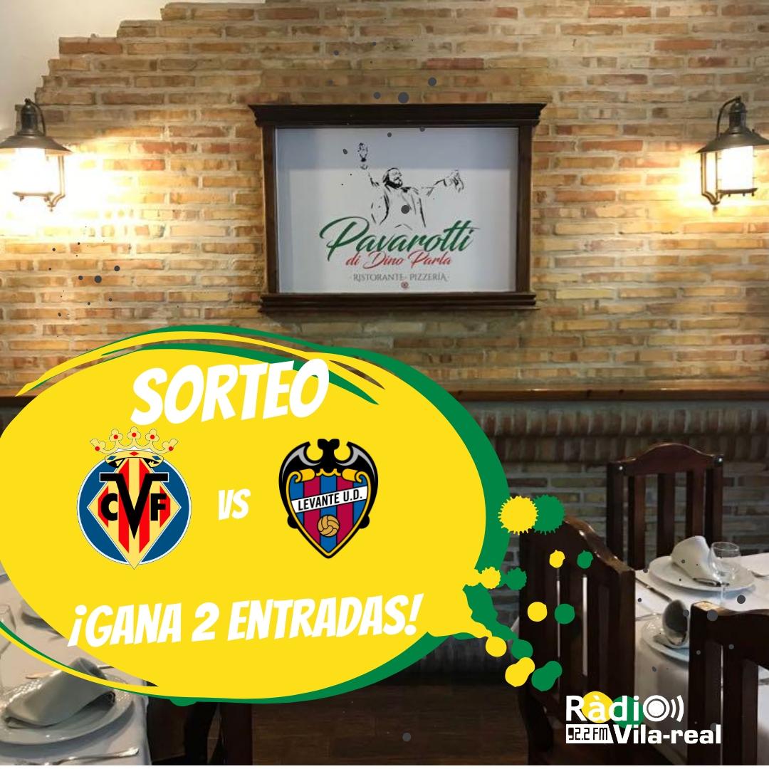 SORTEO VILLARREAL CF: gana 2 entradas para el Villarreal CF – Levante