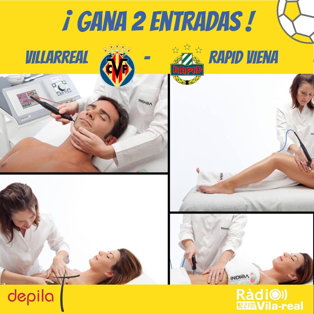 SORTEO VILLARREAL CF: gana 2 entradas para el Villarreal CF – Rapid Viena