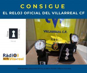 Consigue el reloj oficial del Villarreal CF.