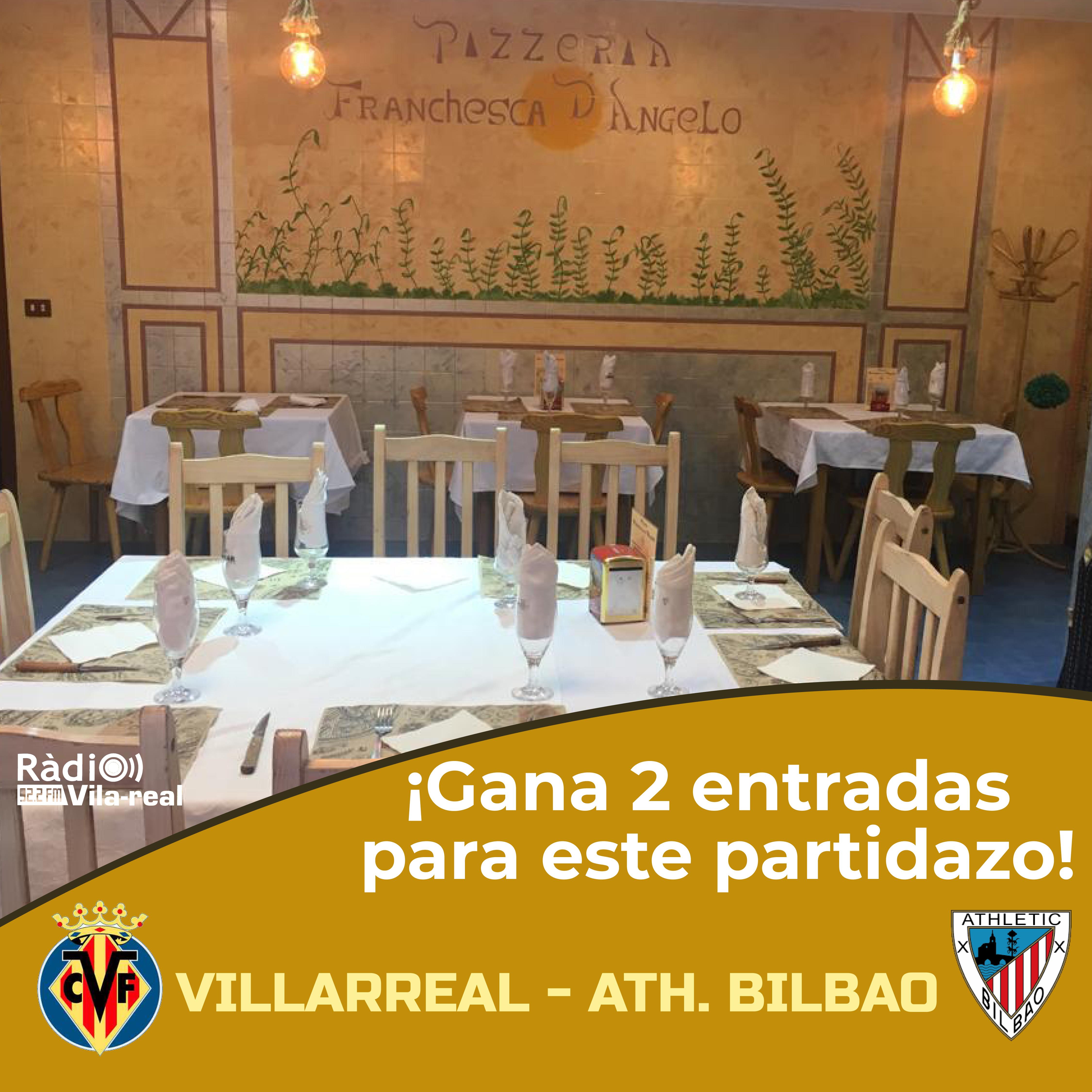 SORTEO VILLARREAL CF: ¡gana 2 entradas para el Villarreal CF – Ath. Bilbao!