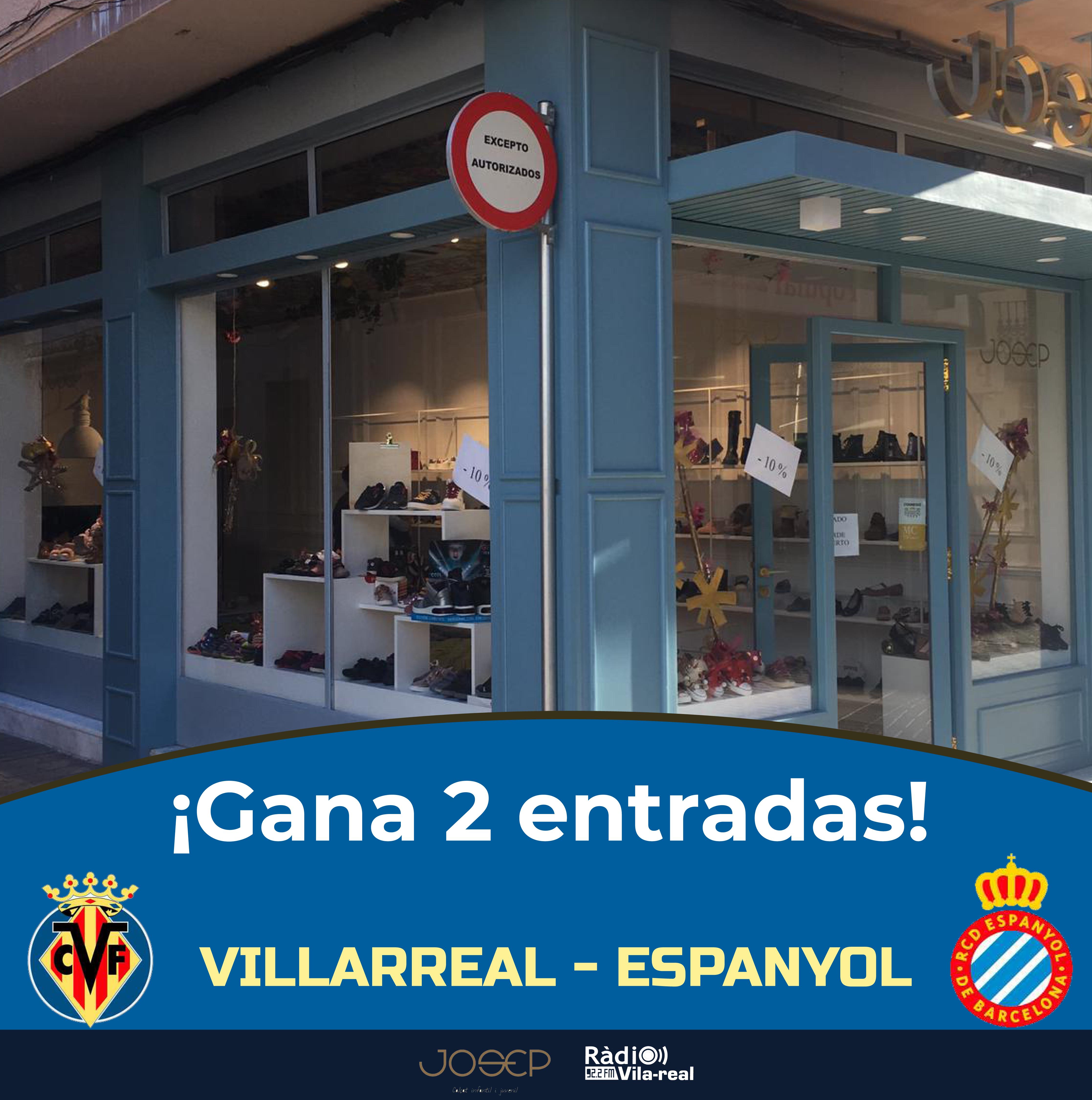 SORTEO VILLARREAL CF: ¡gana 2 entradas para el Villarreal CF – Espanyol!