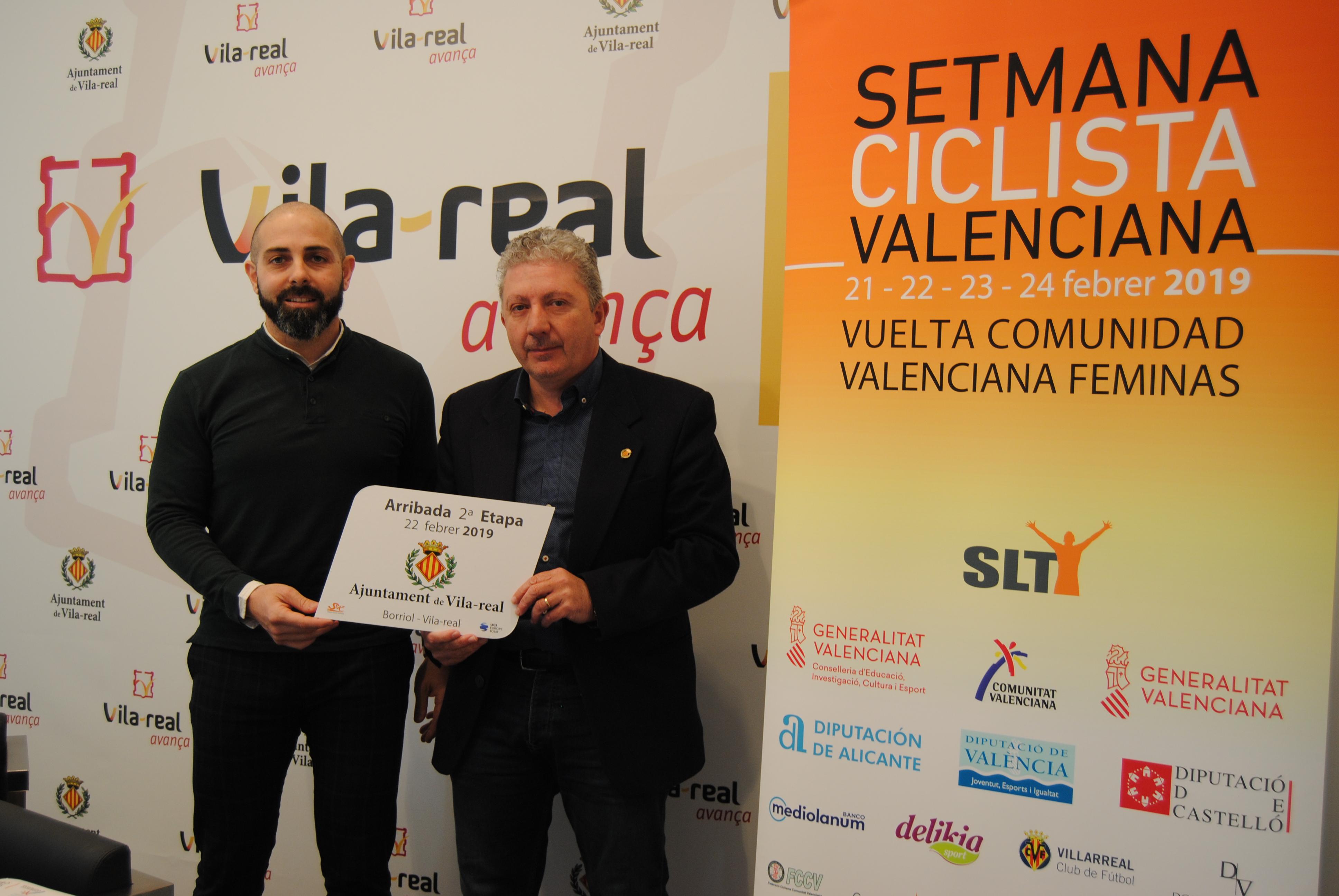 Vila-real acoge la llegada de un etapa de la Vuelta Comunidad Valenciana Féminas.