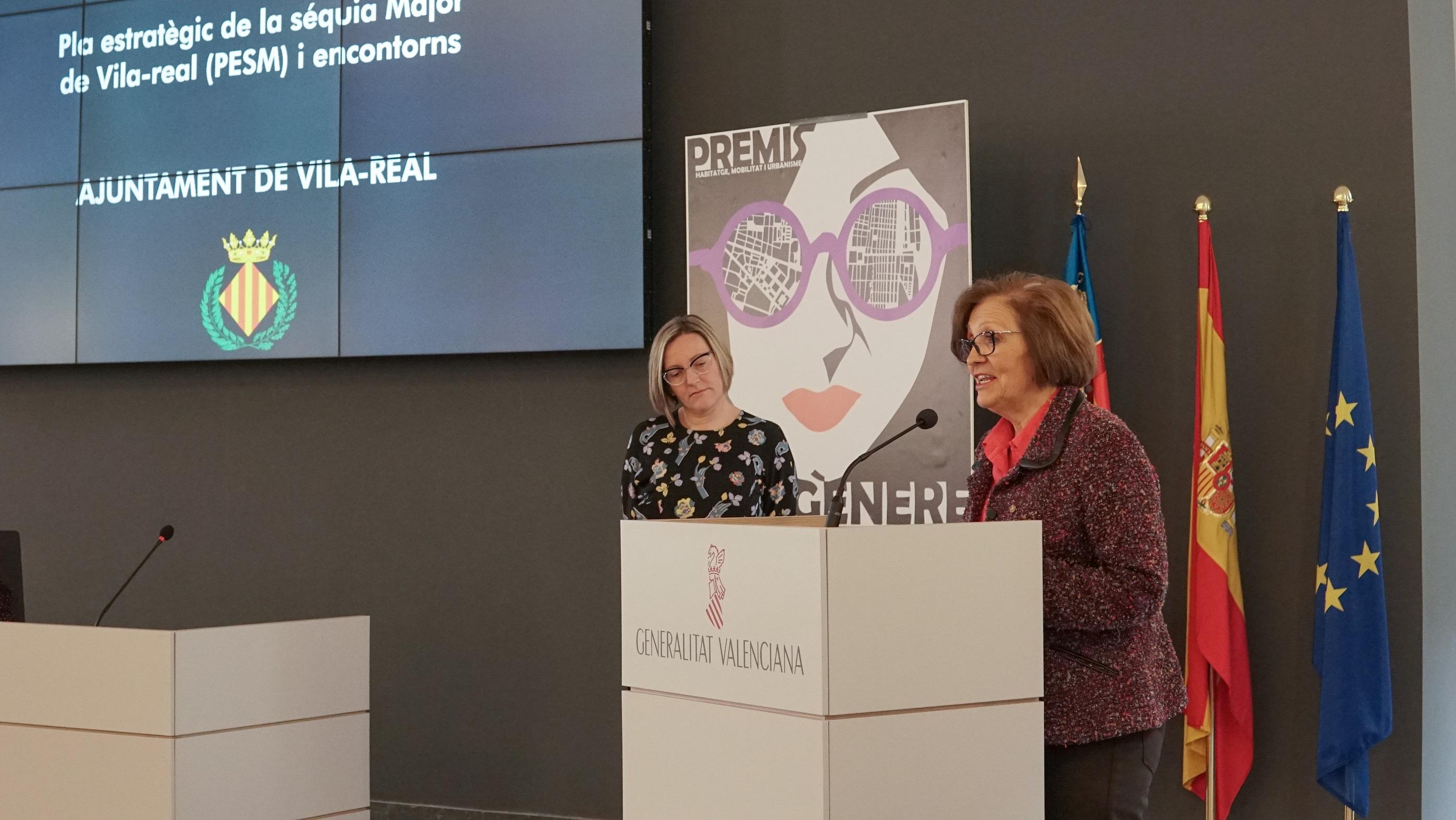 El Plan estratégico de la Acequia Mayor, reconocido por la Conselleria de Vivienda por su perspectiva de género