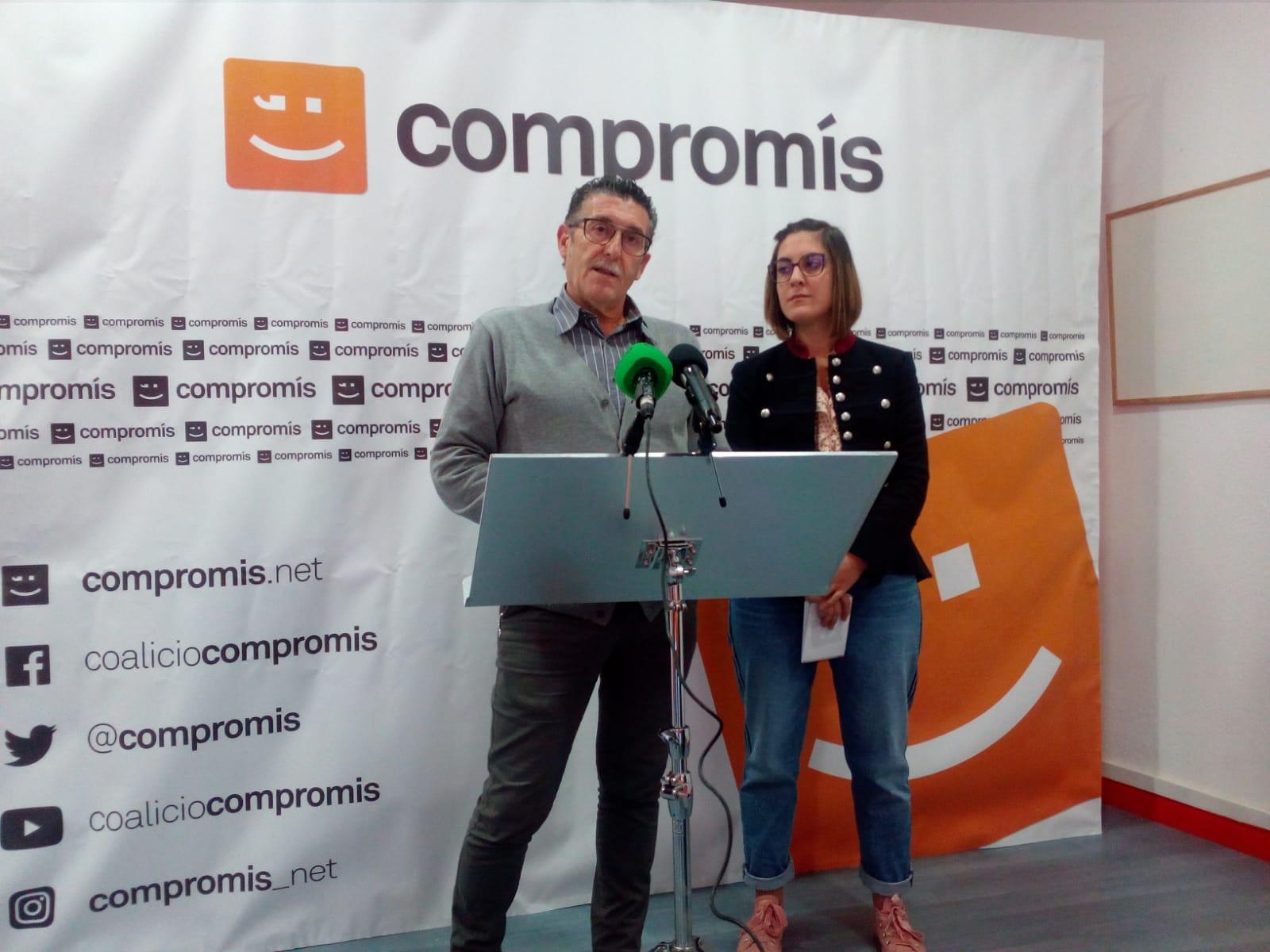 Compromís Vila-real pone en valor el trabajo de Sorlí en el Congreso