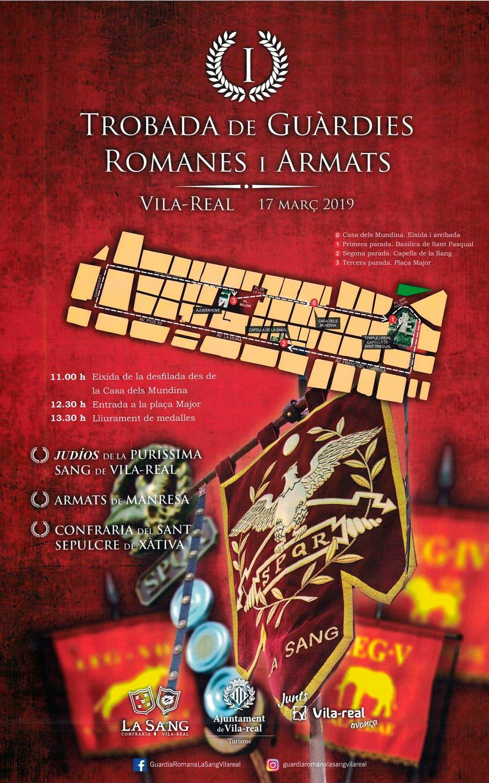 Vila-real acoge el Encuentro de Guardias Romanas y Armados.