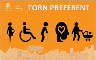 Preferencia para las personas con discapacidad, mayores y embarazadas en Atención y Trámites