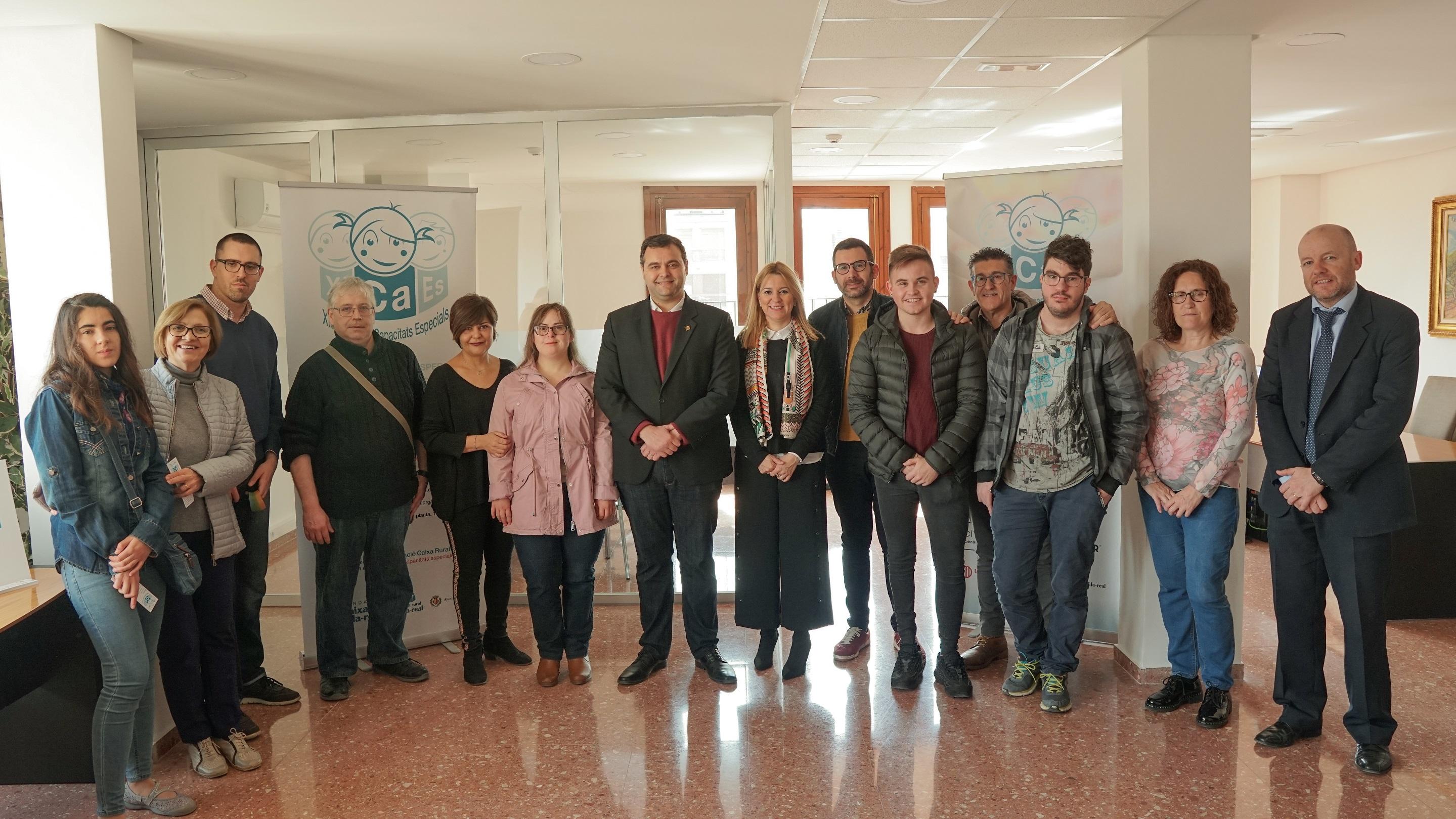El Ayuntamiento de Vila-real incorpora a siete trabajadores con capacidades diferentes.