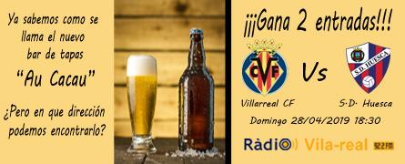 Sorteo de entradas Villarreal C.F. – S.D. Huesca
