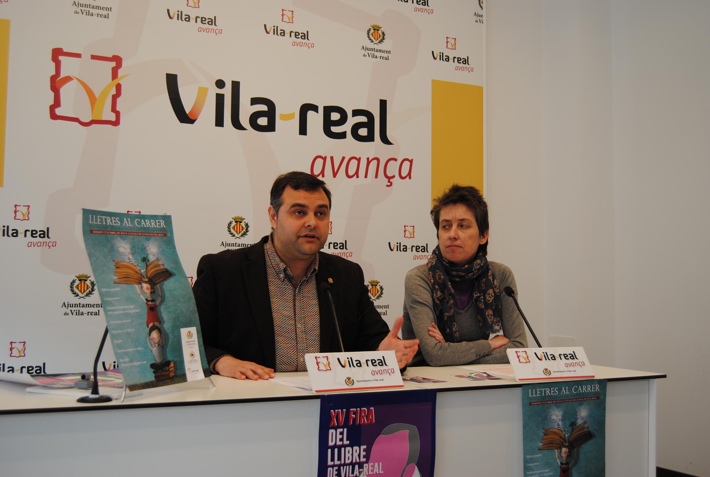 Las letras invadirán la plaza de la Vila el sábado 27.