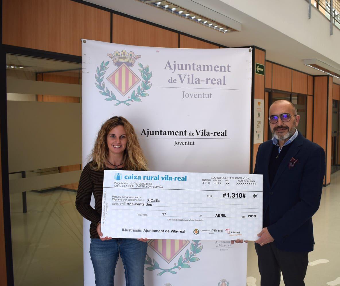 Joventut recauda 1.310 euros para Xicaes