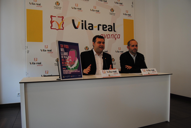 La Fira del Llibre llega a su 15 edición en Vila-real del 23 al 26 de mayo.