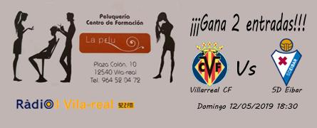Sorteo de entradas Villarreal C.F. – S.D. Eibar