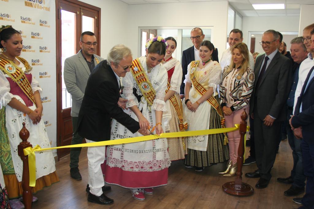 Inauguración de las nuevas intalaciones de Ràdio Vila-real.