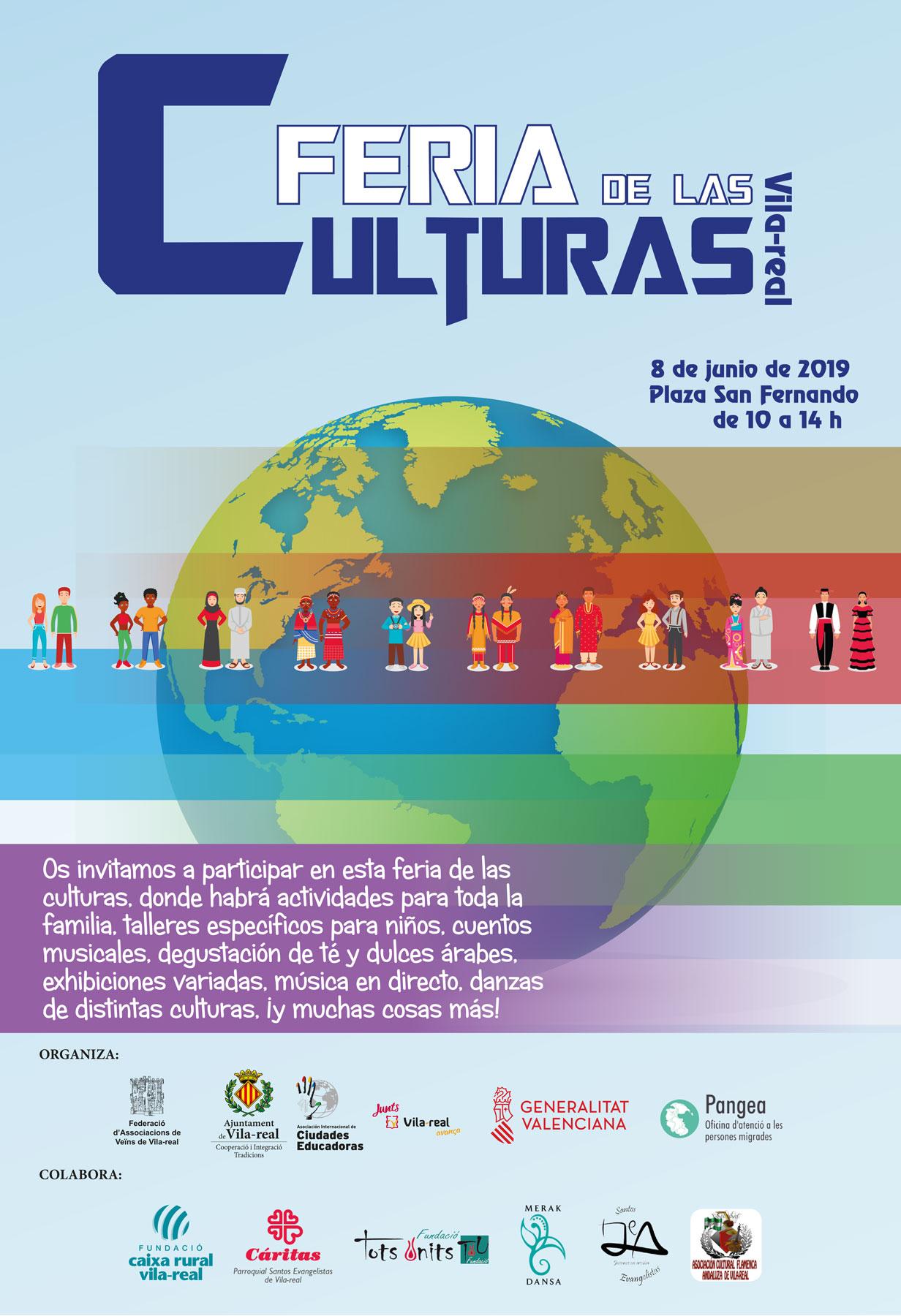 La plaza de Sant Ferran acoge la Feria de las culturas
