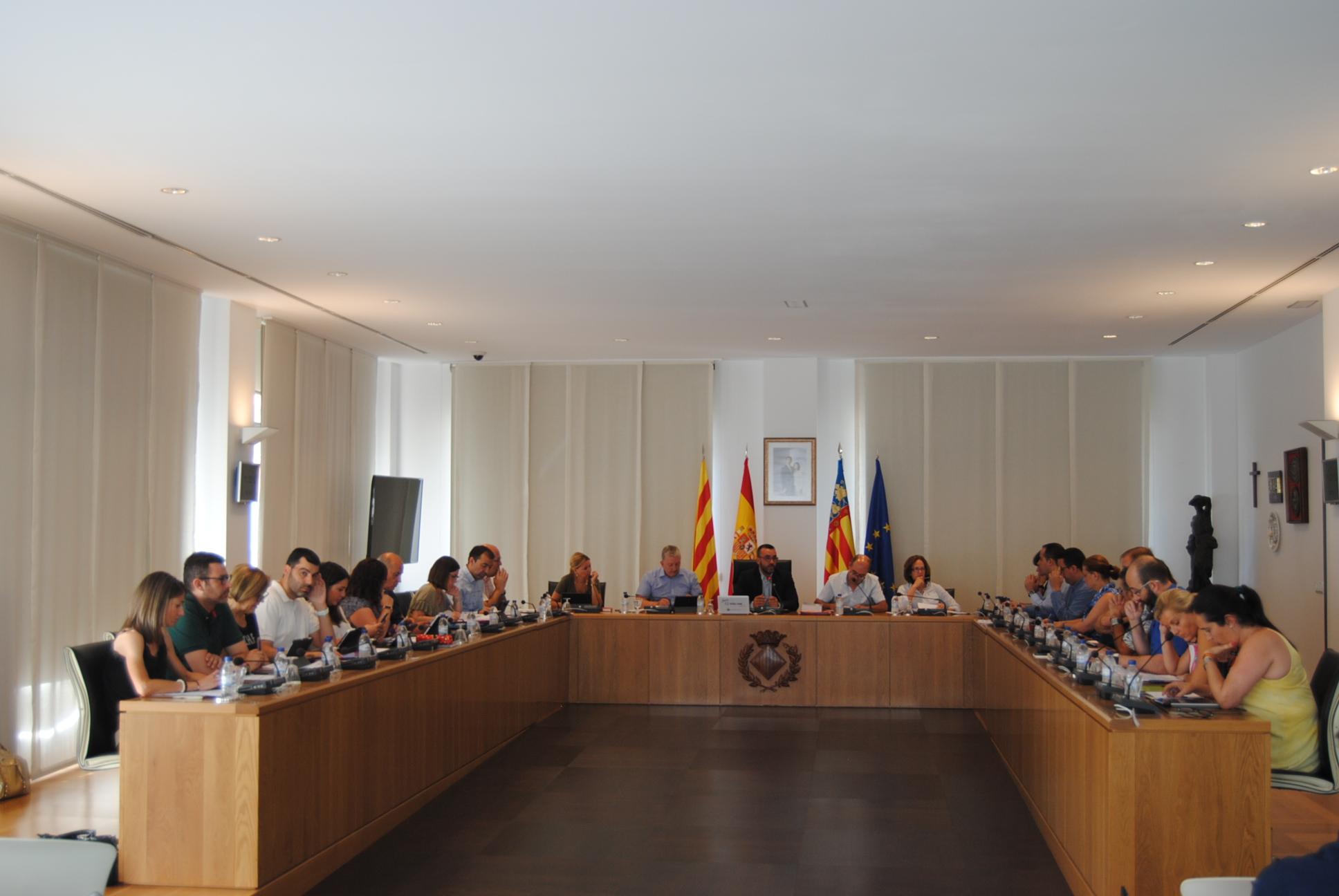 El Pleno aprueba un préstamo de 3,2 millones de euros.
