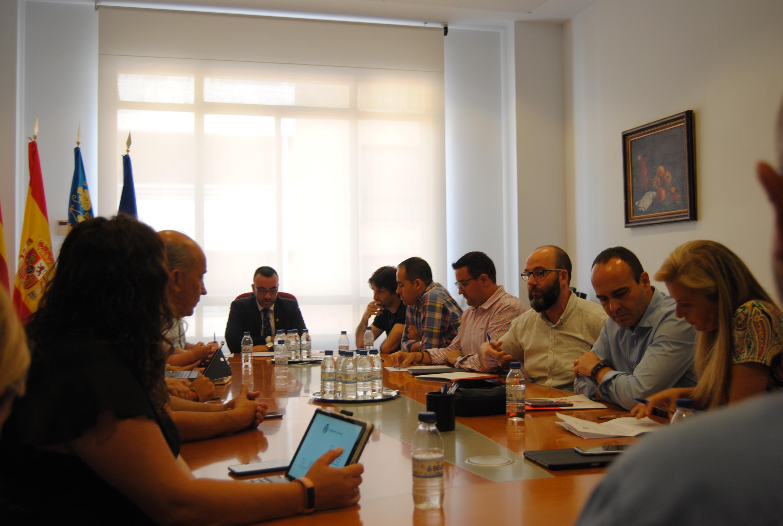 Vila-real constituye la Junta de Coordinación del nuevo mandato con los concejales de PSPV y Podem.