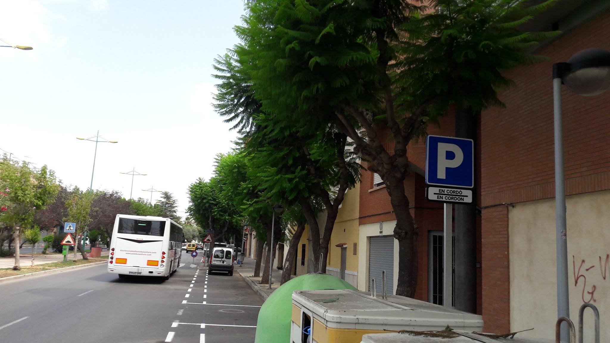Reordenan el aparcamiento en la avenida Alemania y dotarán de nuevas plazas de estacionamiento la calle Jaume Roig.