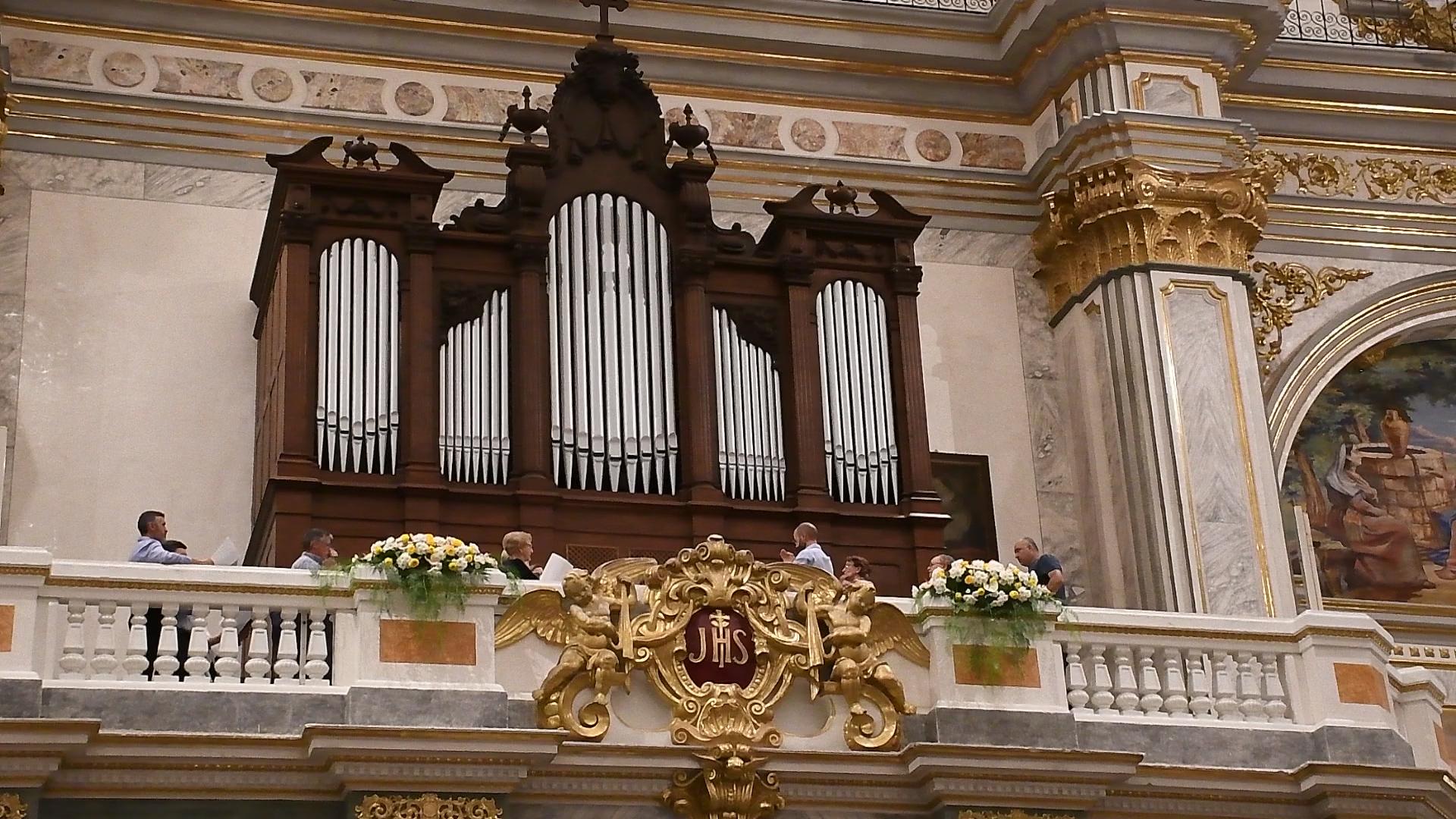 El órgano romántico de la Arciprestal recupera su sonido.