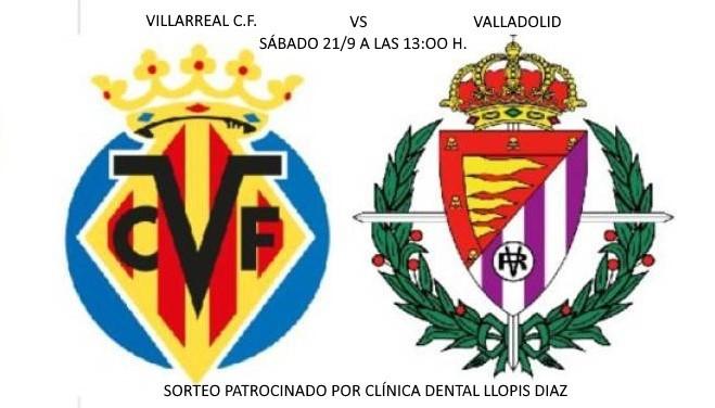 Sorteo de entradas para el Villarreal C.F. – Valladolid
