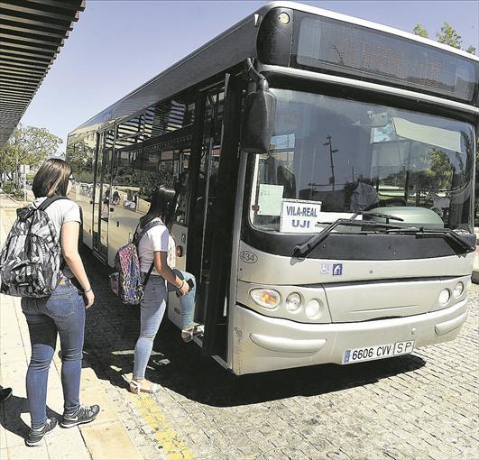 Vila-real reactiva el lunes el servicio de autobús gratuito a la UJI.