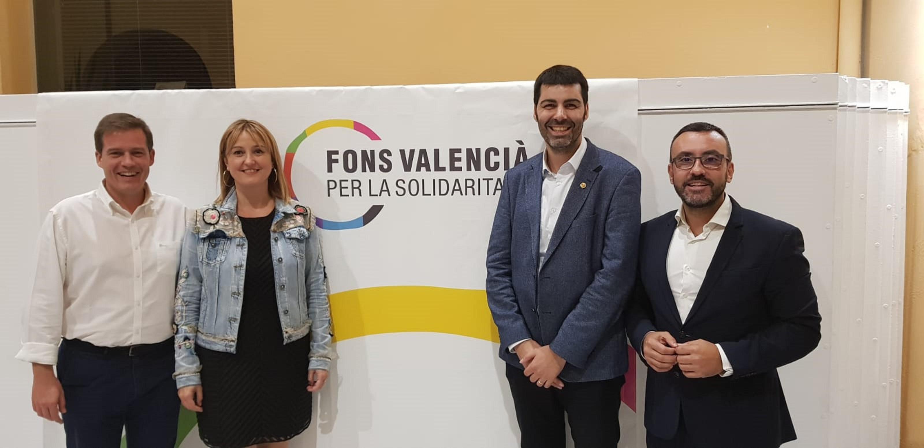 Vila-real asume la presidencia del Fons Valencià per la Solidaritat.